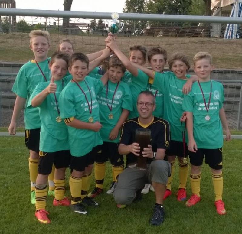 D-Junioren gewinnen den Solarcup in Oberndorf