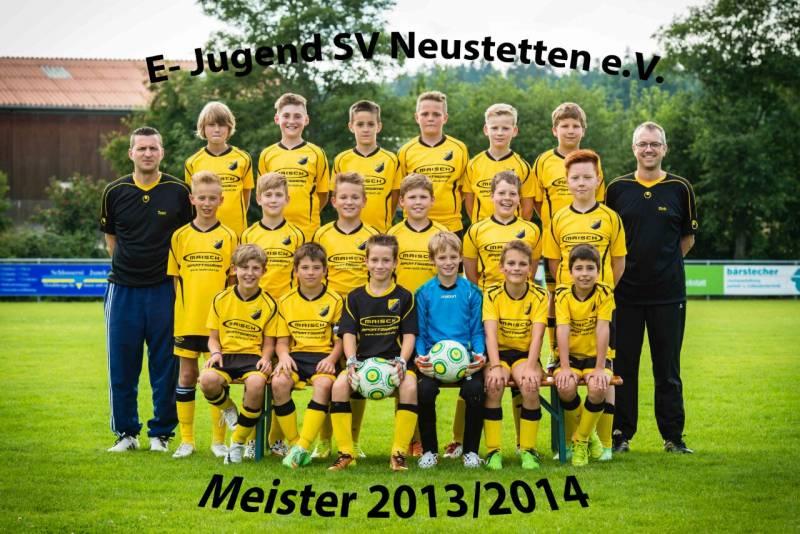 E Junioren Meister 2013/14