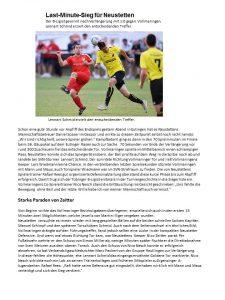 SVN gewinnt den Gäupokal 2019