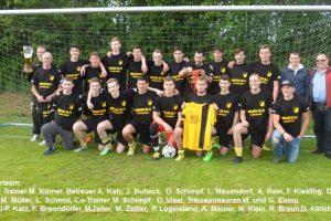 A-Junioren: 2:0 Heimsieg zur Meisterfeier und 6:0 Auswärtssieg zum Saisonabschluß